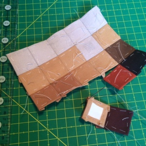 Nelson Quilt - starting out