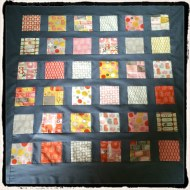 The quilt made by machine