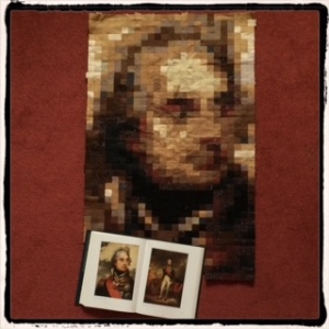 Comparing the Nelson Quilt with portraits by Beechey