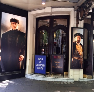 Wolf Hall and Bring Up the Bodies at the Aldwych Theatre