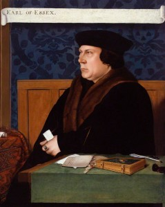 NPG 1727; Thomas Cromwell, Earl of Essex after Hans Holbein the Younger. © National Portrait Gallery, London. *