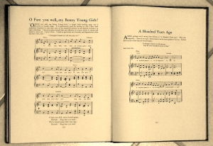 Music from Sea Songs and Shanties collected by W B Whall, Master Mariner (published by James Brown and Son, 1926)