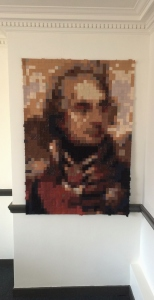 The Nelson Quilt at 1,750 squares, 15 January 2015