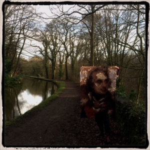 Taking the Nelson Quilt for a walk, New Year 2015