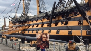 The Nelson Quilt at HMS Victory, 1 May 2015