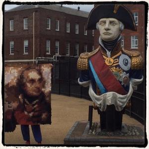 Nelson Figurehead meets Nelson Quilt