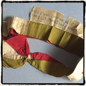 The Sash worn by Sir John Martin-Harvey in The Only Way