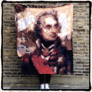 The Nelson Quilt at 2,900 squares: 28 June 2015. 300 squares to go.