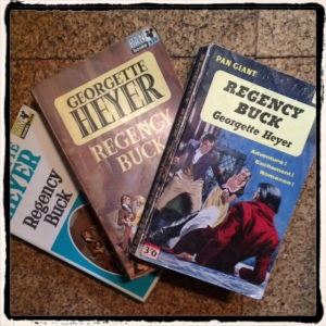 Regency Buck Pan Paperbacks