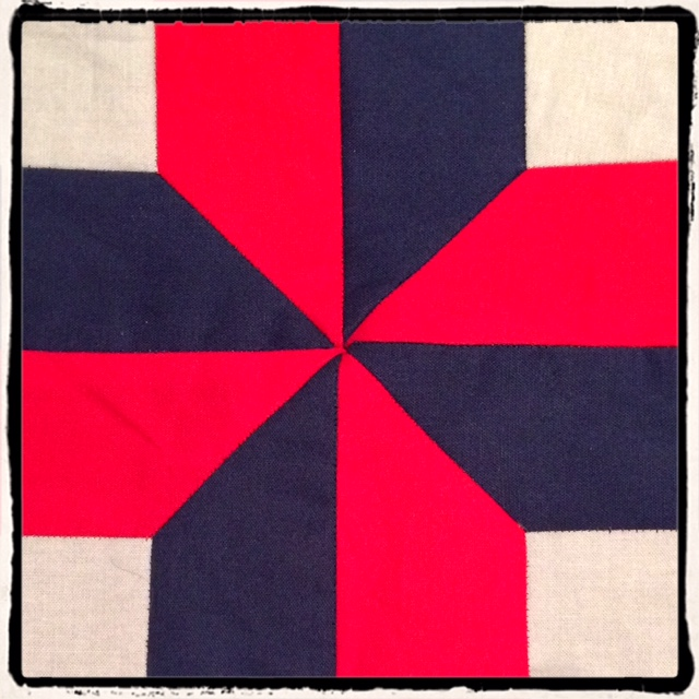 Nelson's Victory Quilt Block