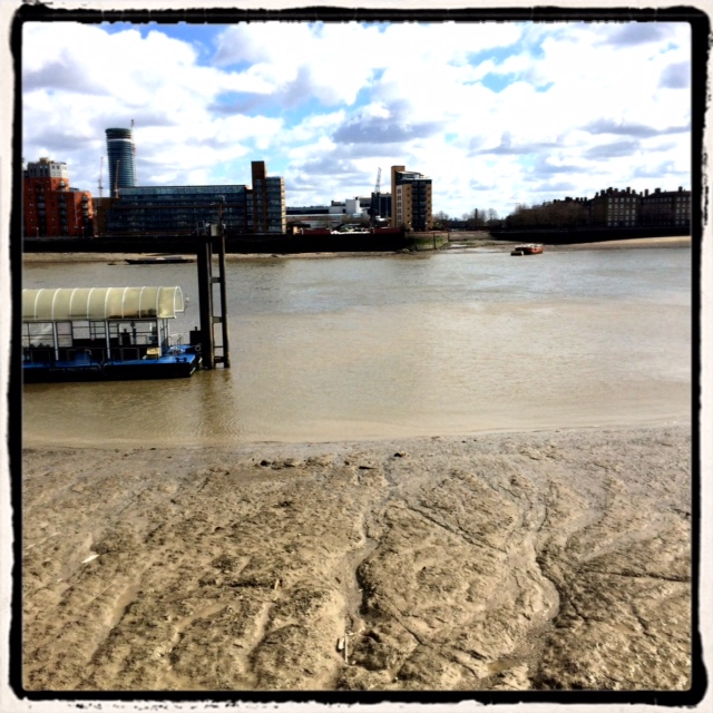 LowTide at Limehouse Reach