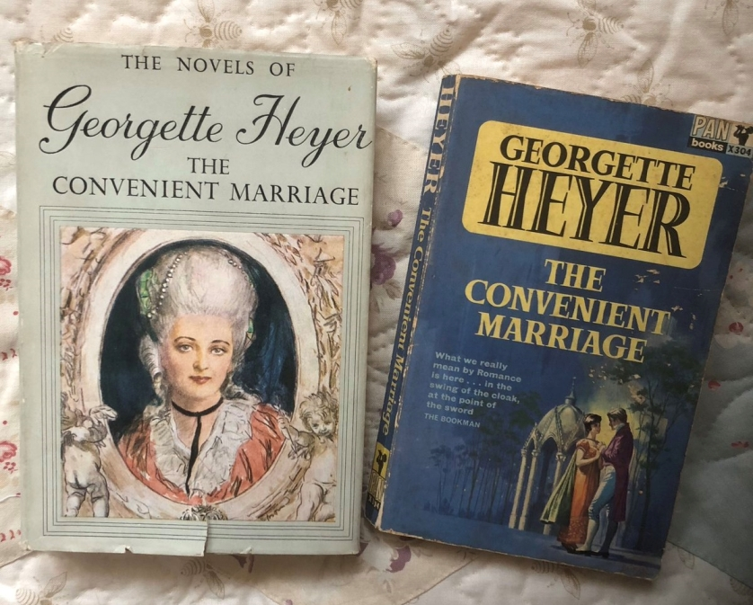 The Convenient Marriage. These editions: Heinemann 1952, Pan 1964.